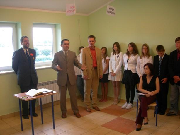 Otwarcie gimnazjum rok szkolny 2007/2008